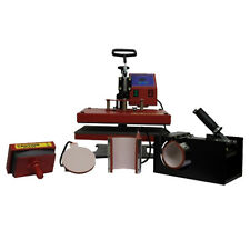 A6 SWING Heat Press 5 IN 1 Machine BETTER QUALITY FOR T SHIRT PRESSING