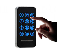 Electronic Cabinet Lock Kit Set, Digital Touch Keypad Lock, Password Entry and R