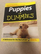 Puppies For Dummies 2nd Edition (2006 Paperback by Sarah Hodgson)