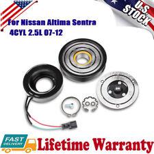 A/C Compressor CLUTCH KIT For 2007 2008 2009 2010 2011 2012 Nissan Altima Sentra
