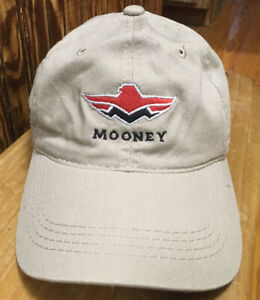 Mooney Aircraft Embroidered PILOT PERFECT M20V 1st Delivery Adjust Ball Cap Hat