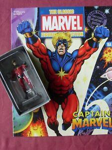 Captain Marvel #164 Classic Marvel Figurine Collection Fig & Mag Eaglemoss VFN