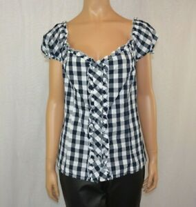 Dirndl blouse Traditional Bavarian blouse Oktoberfest blouse  Size 44/XXL