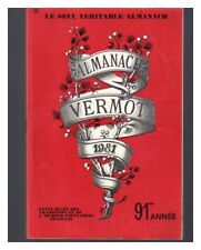ALMANACH VERMOT 1981  BE CADEAU ANNIVERSAIRE