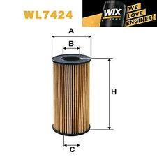 1x FILTRO DE ACEITE WIX Wl7424 - equivale a Fram ch10076eco