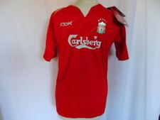 2005-2006 REEBOK Liverpool FC Home Champions League Shirt Child SMALL 116cm BNWT