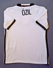 Ozil Germany Jersey 2016 2017 Home 9-10 y Kids Shirt White Trikot Adidas ig93