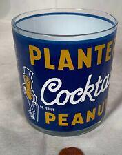 New ListingVintage Rare Error Planters Cocktail Peanuts Acl Glass
