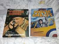 Vintage and collectable Film And Movie Book Bundle joblot from 1975 and 1979