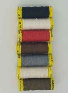 Gutermann Strong Linen Thread Sewing  Mending Leather Upholstery 50m Reel