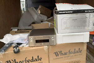 MARANTZ Melody True HiFi CD System in silver (M-CR412). BLUETOOTH.