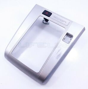 08-11 Scion xB Center Console Shifter Bezel Trim Silver Automatic Hazard OEM