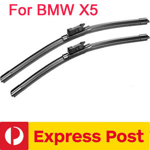 Windscreen Wiper blades suit BMW X5  E70 MY02  2012 - 2013 Pair Front