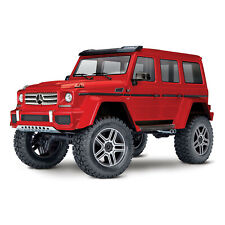 Traxxas 82096-4-REDU TRX-4 Scale and Trail Crawler Mercedes Benz 500 4x4 Replica