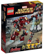 LEGO 76031 The Hulk Buster Smash - Marvel Super Heroes.