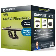 Anhängerkupplung WESTFALIA abnehmbar VW Golf VI Fliessheck +E-Satz NEU inkl. EBA
