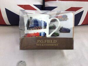 Train Mug & Coaster Set Mallard Flying Scotsman New