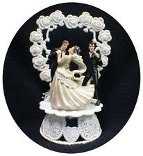 SEXY ELVIS LasVegas Romantic Wedding Cake Topper bride groom top Funny The KIng