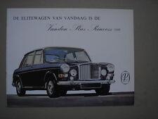 VANDEN PLAS  Princess 1100   brochure /  Prospekt  1965.