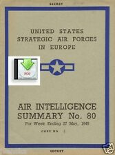 CD File Air Intelligence Summary 1945 05 8th & 15th Air Force Fallersleben VW V1