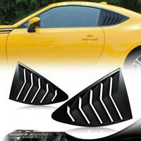 ABS 1/4 Side Window Louvers Scoop Cover Vent For 2013-2020 SUBARU BRZ /SCION FRS