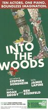 Stephen Sondheim's INTO THE WOODS the musical 2 rare flyers from off-Broadway