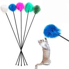 Katze Spielzeug Feder Wand-Katzenangel Angel Spielangel Katzen Katzenspielzeug