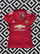 Manchester United Football Shirt Womens Small S 8-10 2017 2018 Season Brand New