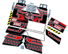 Custom 'Pre-Cut' stickers for LEGO 8285 Tow truck ,models ,toys, etc