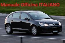 Citroen C4 MK1 prima serie 1° (2004/2010) Manuale OFFICINA Riparazione ITALIANO