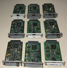 Lot Of 9 Hp JetDirect 615n/610n/600 10/100Tx Ethernet Network Print Server Cards