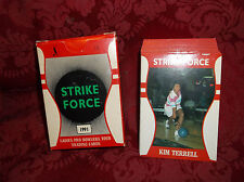 STRIKE FORCE 1991 LADIES PRO BOWLERS TOUR GUIDE COMPLETE 64 CARD SET WITH BOX...