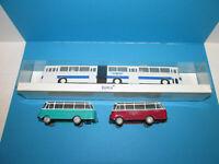 Konvolut 3 alte DDR BeKa Modellautos Busse Ikarus Robur 1:87 Spur H0