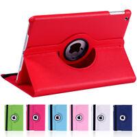 For iPad Mini 1 2 3 4 Air 2 360 Degree Rotary Litchi Grain PU Leather Cover Case
