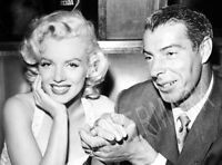 Joe DiMaggio Marilyn Monroe High Quality Metal Magnet 3 x 4 inches 8970