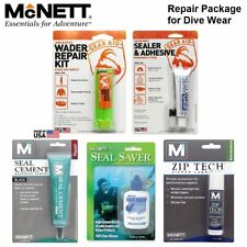 McNett DiveWear Repair Package ZipTech SeamGrip SealSaver SealCement Aquaseal AU