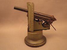 Small Marklin coastal (or AA) cannon, steel barrel,  frame, Model 8024