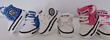 BABY  NEWBORN CROCHET KNITTING HAND SHOES TRAINERS SNEAKERS CLOTHES SOCKS BOOTS