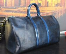 """LOUIS VUITTON 100% Authentic  18"""" Hand Burnished Duffle Carry All Bag Mens"""