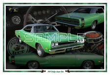 1969 Dodge Super Bee Poster Print