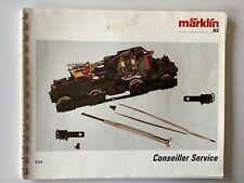 Catalogue MARKLIN  : Conseiller Service  HO en Français