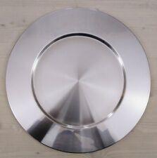 Alessi 2 sottopiatti acciaio satinato SG43 S