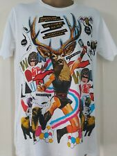 Shiroi Neko T shirt  Minute Mirth RhymesTattoo Punk Goth Emo BNWT  Medium