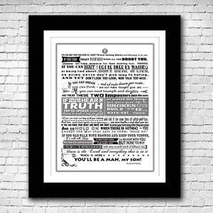 IF - Rudyard Kipling Poem Typography Print