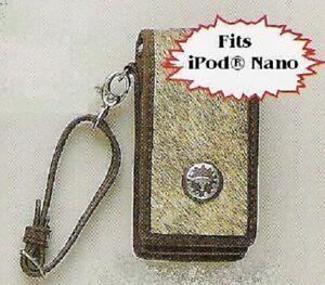 Belt Clip ~iPod Nano CASE~ Western Hair Leather/BROWN 81