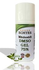 DMSO Gel Mädesüß 50ml bequeme Anwendung Dimethylsulfoxid 99,9% Reinheit Salbe