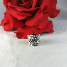 Sterling Silver Uchin Modernist Ring Size 7 Cat Rescue