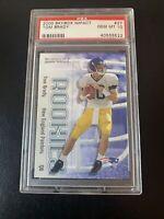 Tom Brady 2000 Skybox Impact Rookie RC PSA 10 Gem Mint Patriots Buccaneers #27