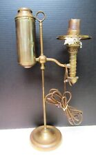 VINTAGE WHALE OIL AND ELCTRIC COMBINATION LAMP VERY GOOD CONDITION SEE PICTURES