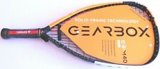 "GEARBOX M40 Racquetball Racquet - 165Q Quadra Form 3 5/8"" New"